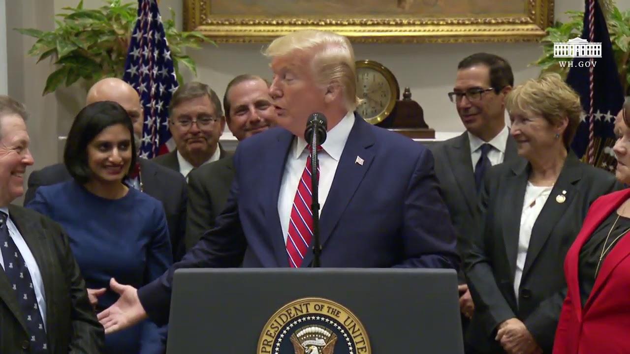 Remarks: Donald Trump Addresses Healthcare Pricing Transparency - November 15, 2019