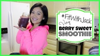 Very Berry Sweet Smoothie | #fitwithjack