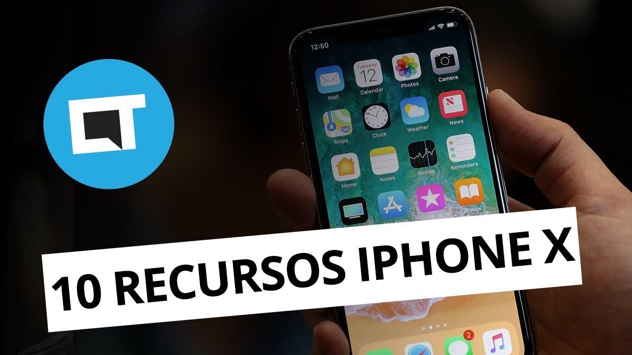64171edc642 Os 10 melhores recursos do iPhone X - Vídeos - Canaltech