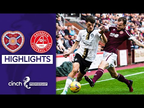 Hearts Aberdeen Goals And Highlights