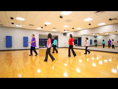 Rolling With Love - Line Dance (Dance & Teach In English & 中文)