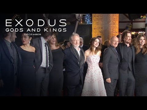 Exodus: Gods and Kings  Global Premiere Highlights HD  20th Century FOX