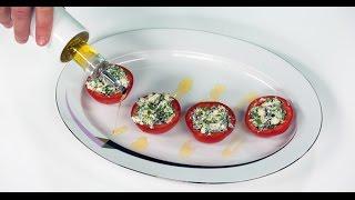 Фаршированные помидоры | 7 нот вегетарианской кухни