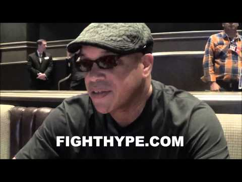 VIRGIL HUNTER PREFERS FOR ANGULO TO KNOCK OUT CANELO
