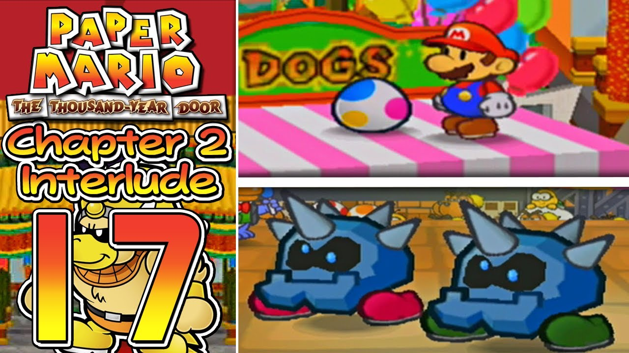 Paper mario the thousand year door part 17 our yoshi for 1000 year door