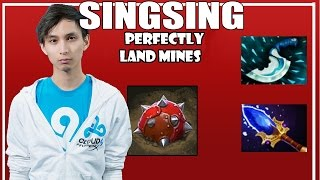 SingSing Dota 2 - Techies Perfect Mines Oh Mine God