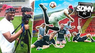 Back To Work With THE SIDEMEN [W2S FOOTBALL CHALLENGE]