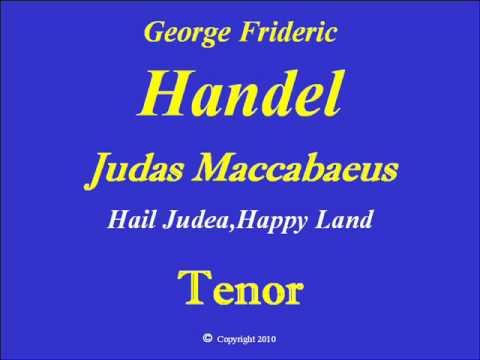 Tenor-Hail Judea-Handel.wmv