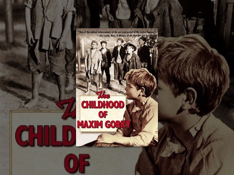 The Childhood of Maxim Gorky (1938) movie