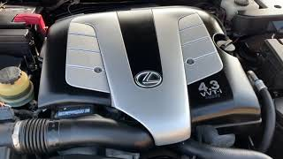 2005 Lexus SC 430 w/ Navigation System Convertible