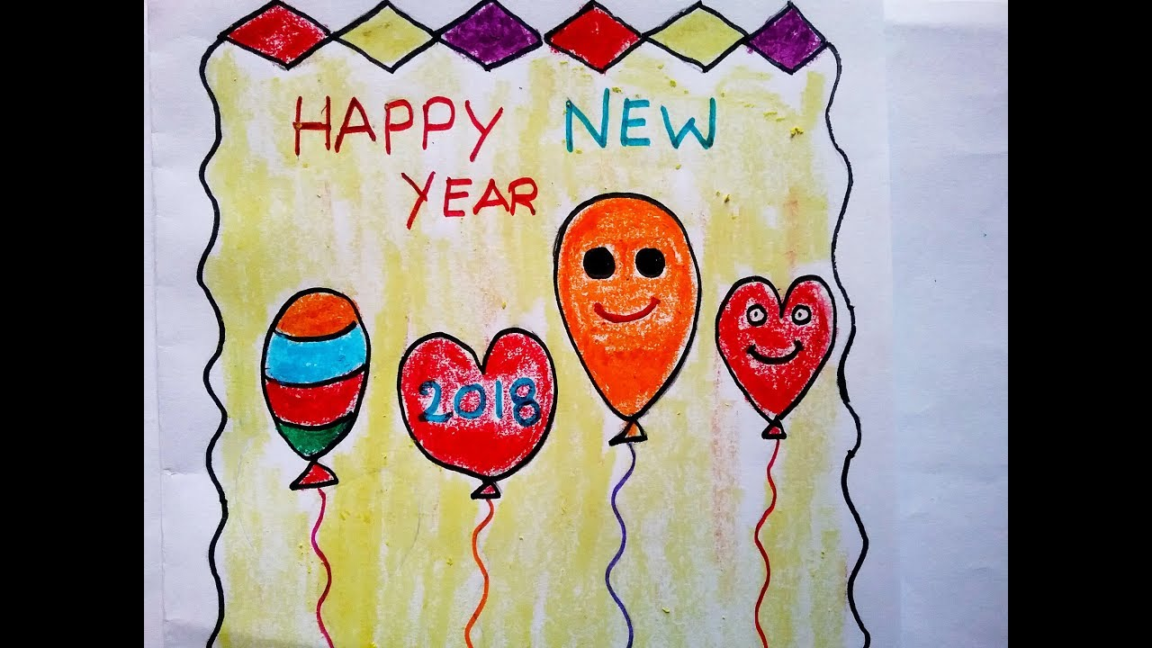 how to make happy new year carddiy greeting cards making ideasgreeting card made out papereasy di