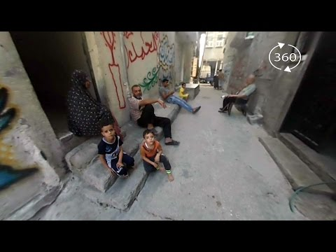360° Video | Growing up in a Gaza refugee camp