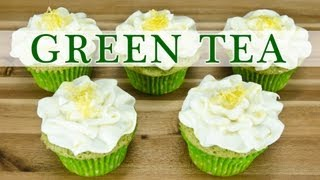 Green Tea Cupcakes (matcha Cupcakes) By  Cookies Cupcakes And Cardio