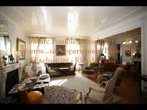 Achat Appartement Paris 16 Passy Exclusivite Marc Foujols Immobilier