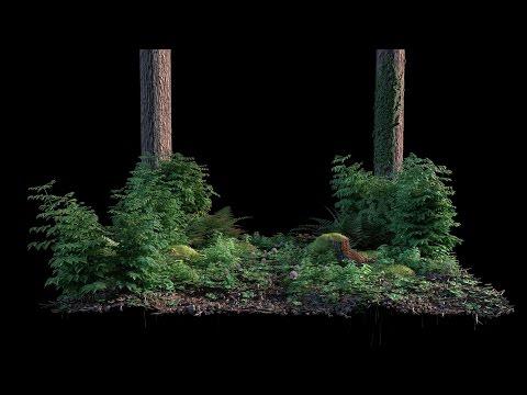 Livestream - Blender 3D - Nature Scene [German]
