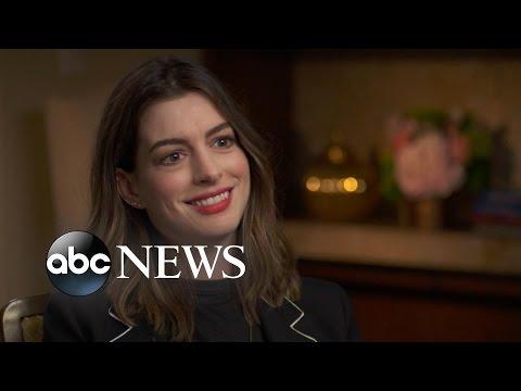 Anne Hathaway Talks Motherhood, New Movie