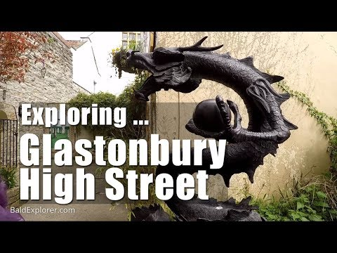 Walk In England: Exploring Glastonbury High Street