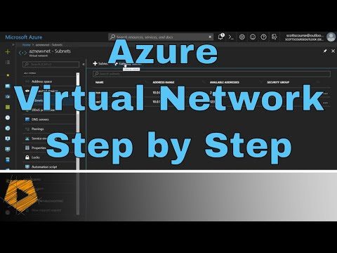 azure-virtual-network-step-by-step