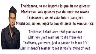 Sebastián Yatra - Traicionera Lyrics English and Spanish - Translations & Meaning - Letras en ingles
