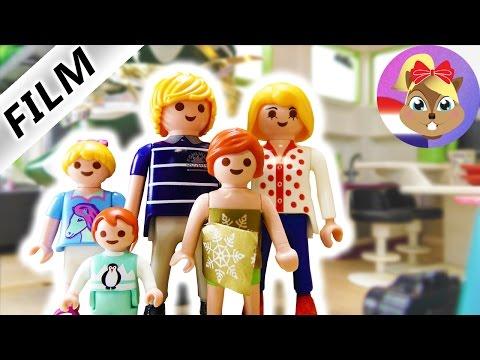 Playmobil filmpje Nederlands - 1e ADVENT BIJ DE VOGELS! MET GROTE BOOM! Kinderserie familie Vogel