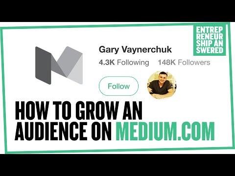 How to Grow an Audience on Medium.com