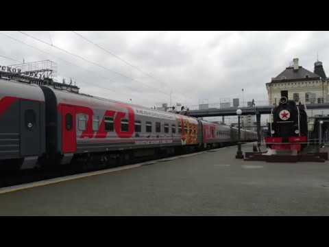 Trans Siberian Railway Travel (Vladivostok to Moscow) -The day 1st to 3rd - 1/3