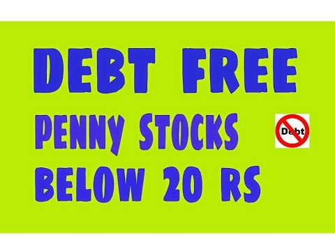 Debt free penny stocks below 20 Rs