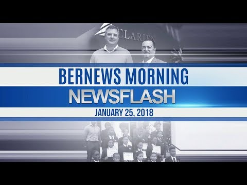 Bernews Newsflash For Thursday, January 25, 2018