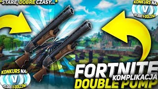 BEST OF DOUBLE PUMP FORTNITE COMPILATION (Youtubers&Streamers) 20K V-DOLCY WYGRAJ