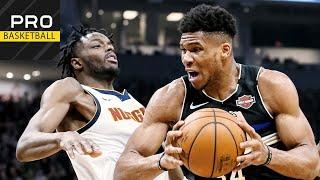 Denver Nuggets vs Milwaukee Bucks   Jan. 31, 2019   2019-20 NBA Season   Обзор матч
