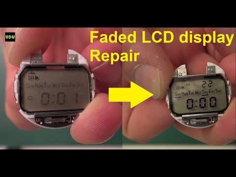 Faded LCD display Repair - Ep 49  -VintageDigitalWatches
