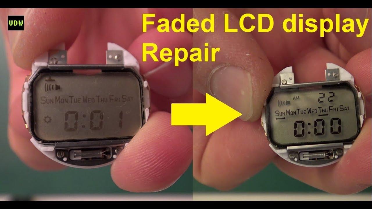 Download Faded LCD display Repair - Ep 49  -VintageDigitalWatches