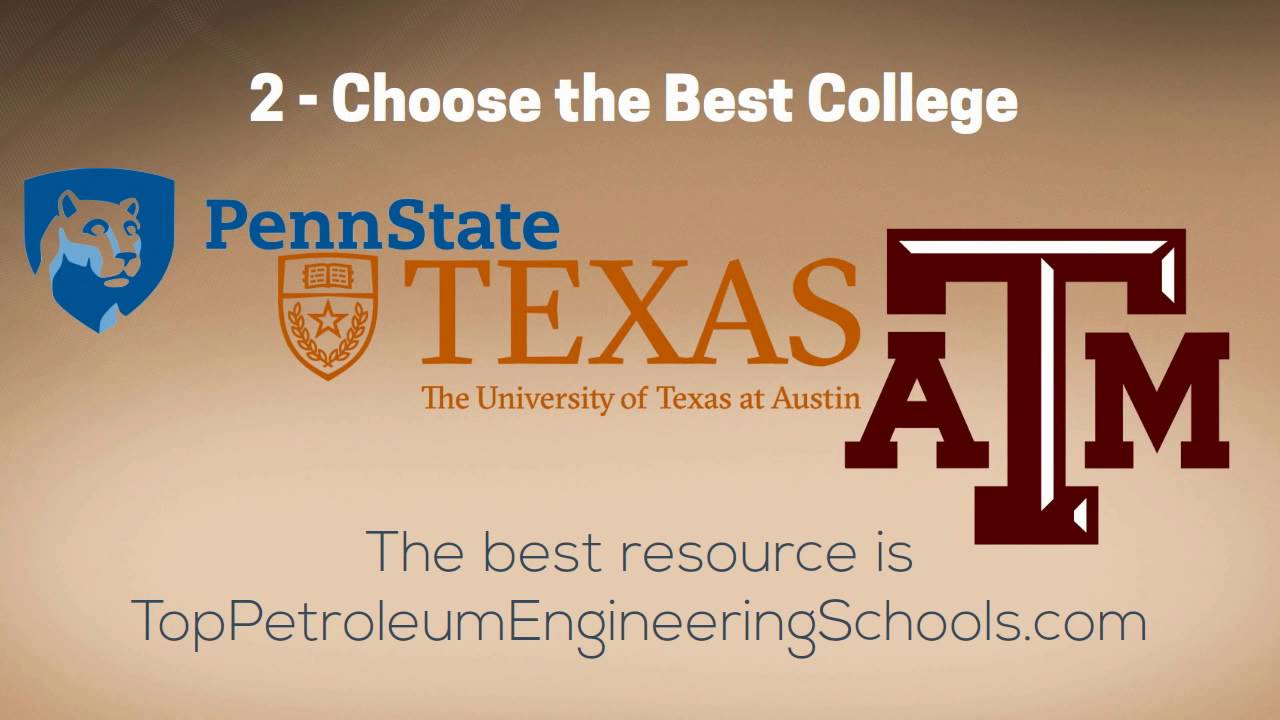 petroleum engineering schools