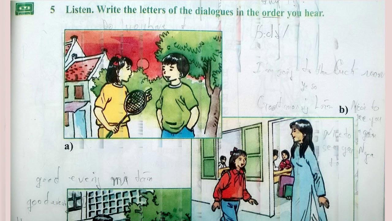 Bài Nghe Tiếng Anh Lớp 7 Unit 1 Full Trọn Bài