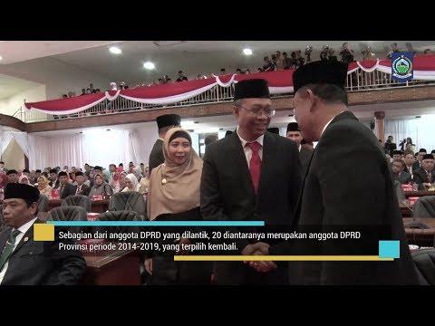 PELANTIKAN ANGGOTA DPRD PROV. NTB MASA JABATAN 2019 2024
