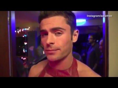Zac efron gay video
