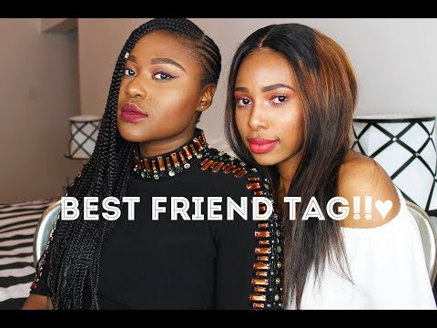 BEST FRIEND TAG!! | SOUL MATES!!
