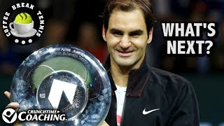 Fed is #1 so what's next? Dubai, French Open, THE WORLD?!? | Coffee Break Tennis