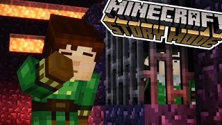 axel olivia and reuben   minecraft story mode   episode 8 3