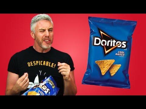 Irish People Try American Doritos