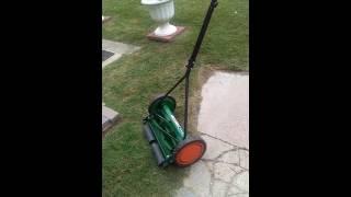 Scott's Elite reel mower review