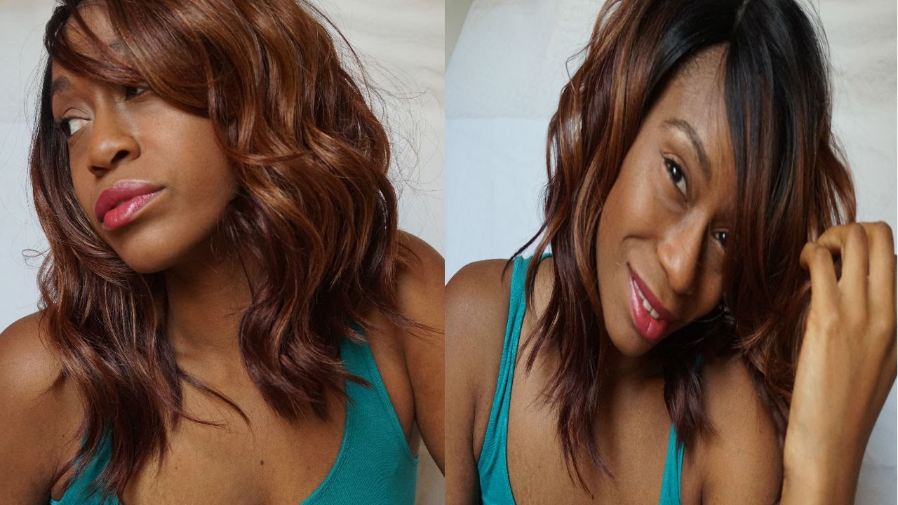 Kim K Inspired Long Bob By Freetress Equal Eternity Wig Review Youtube