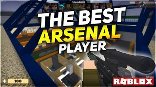 The Best Player in Arsenal (ROBLOX Gameplay)