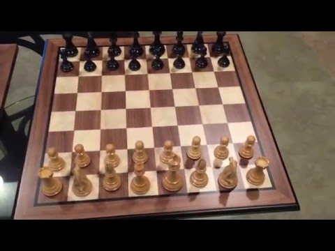 Review of 2 quality chess sets & pieces