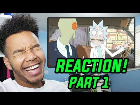 "Rick And Morty Season 3 Episode 1 ""The Rickshank Rickdemption"" REACTION! (Part 1)"