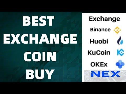 BEST CRYPTO EXCHANGE COINS || BINANCE  || HUOBI || KUCOIN || OKEX | NEX | BNB  | HT || FTT | KCS |