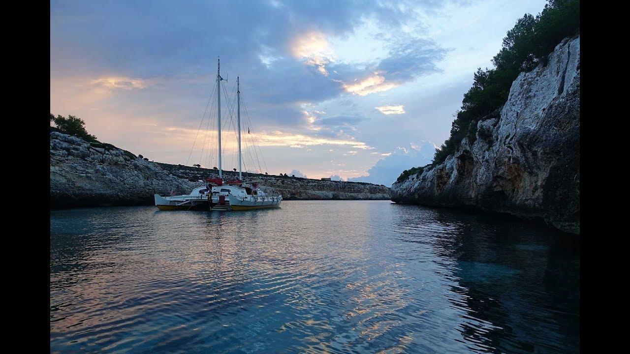 Freitauchen und Segeln auf Mallorca