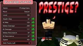 Was passiert, wenn Sie Prestige in Dragon Ball Z Endstand ROBLOX