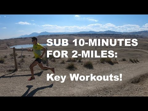 HOW TO RUN A SUB 10-MIN 2-MILE (or 3200m) | Sage Canaday Running Training Talk!