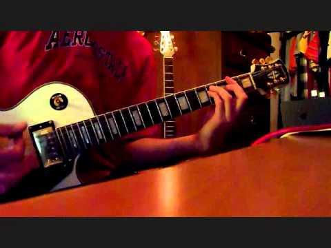 Matchbook Romance: Monsters guitar Cover - BTL